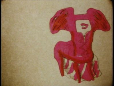 Maria Lassnig - Chairs (1971)