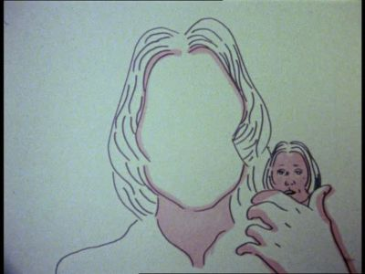 Maria Lassnig - Selfportrait (1971)