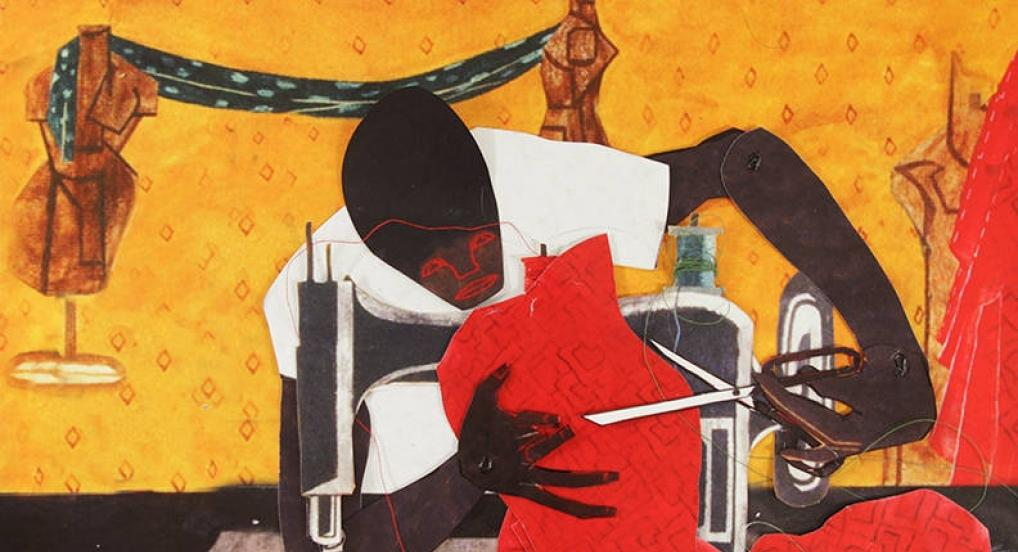 Hammer-Camera-Scissors (The Workers of Jacob Lawrence) (Martha Colburn, 2018)