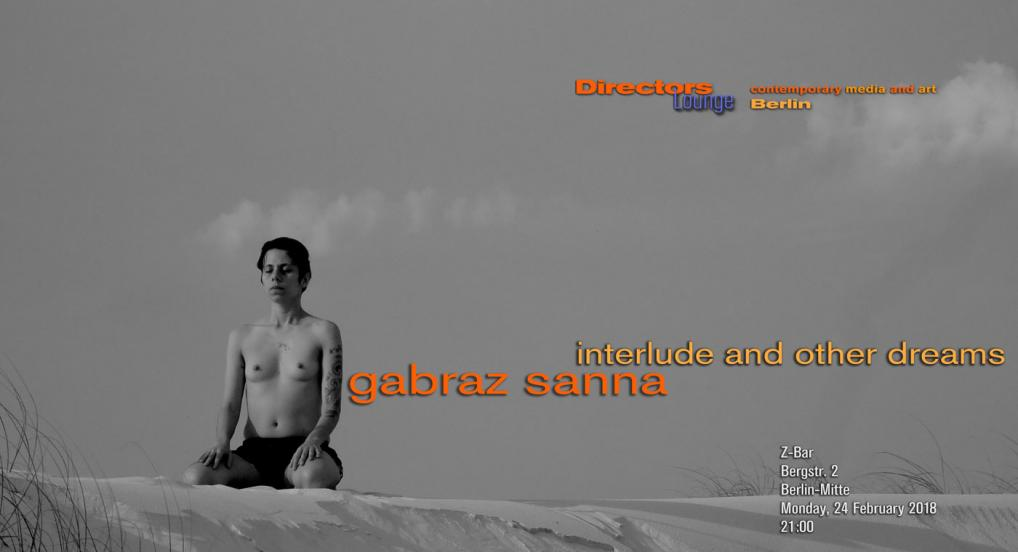 Directors Lounge Screening - Gabraz Sanna