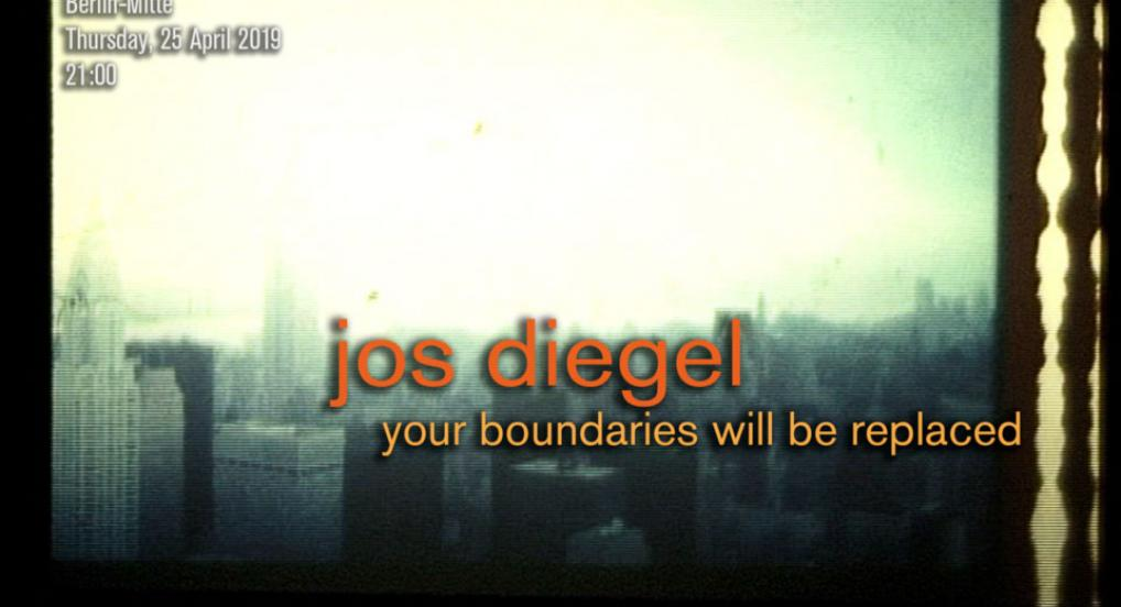 Directors Lounge Screening Jos Diegel Your Bounderies Will be Replaced