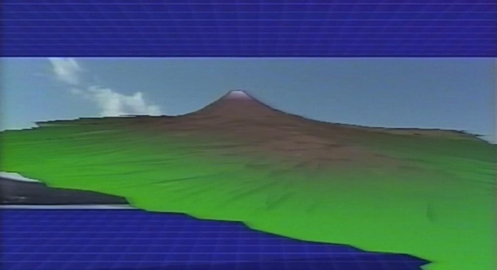 "Still from ""Mt. Fuji"" by Ko Nakajima (1984) - Image courtesy of the artist"