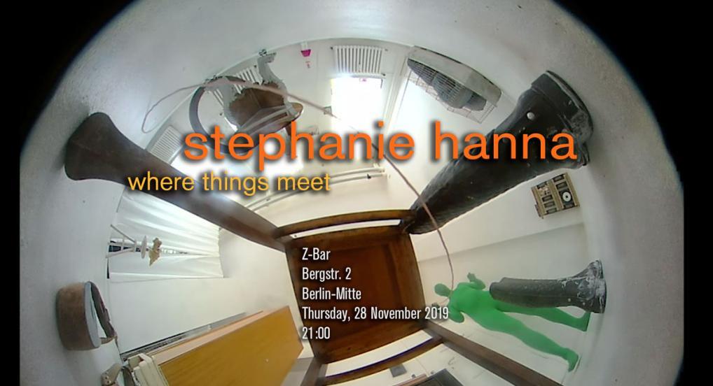 Directors Lounge Screening - Stephanie Hanna - Where Things Meet