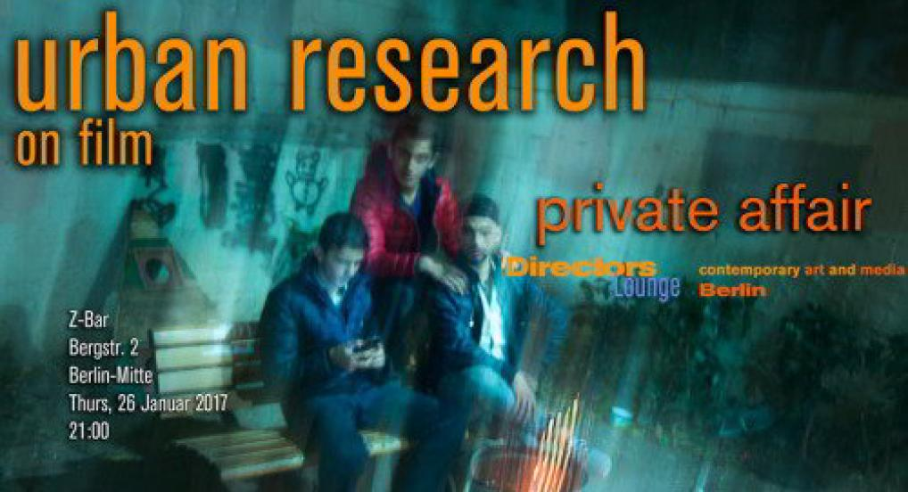 Urban Research: Private Affair