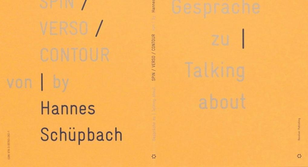 Talking about SPIN / VERSO / CONTOUR by Hannes Schüpbach