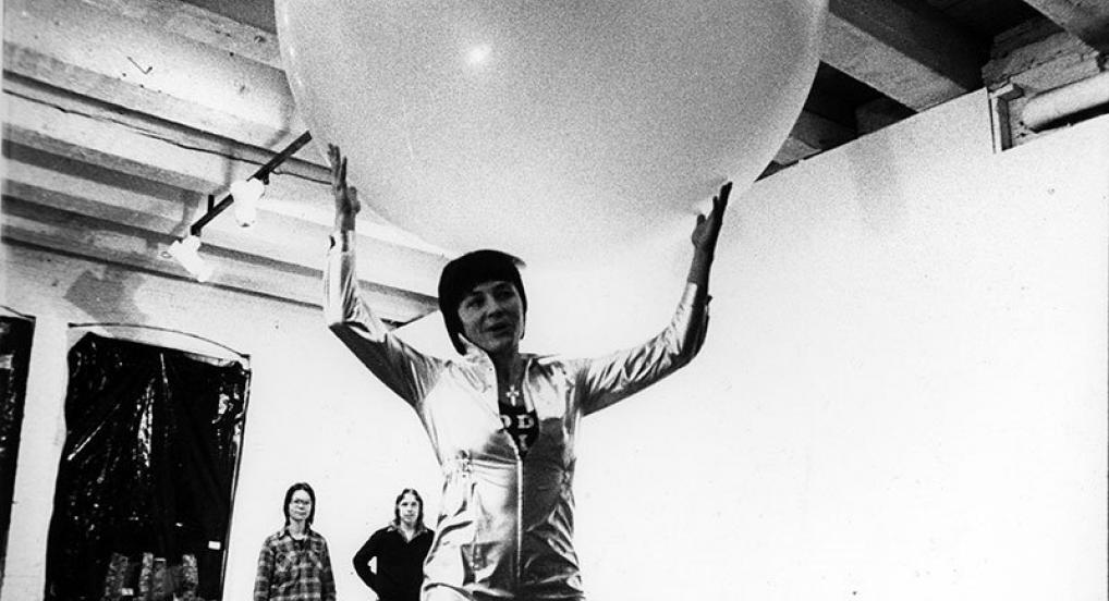 Balloon (Barbara Hammer, 1979) - Northwest Artist Association, Portland, Oregon (by Cheri Heiser)