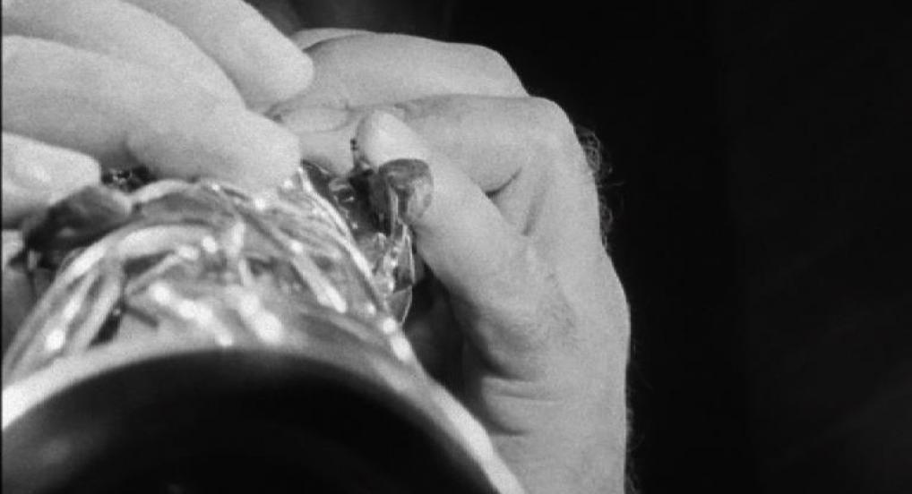 Portrait of Evan Parker (Silver/Gold) (Neil Henderson, 2010)