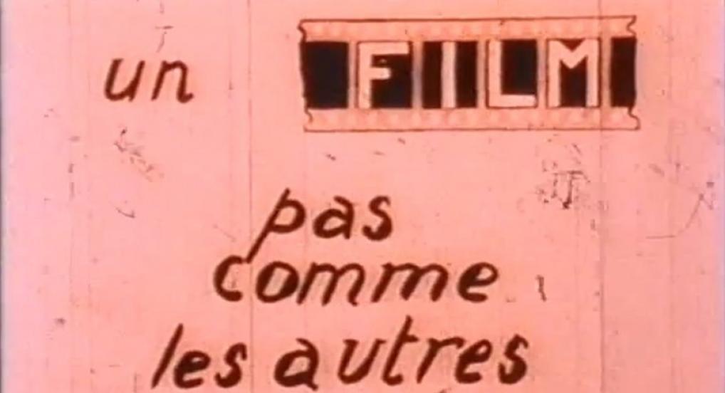 Le Film est déjà commencé? (Maurice Lemaître, 1951)