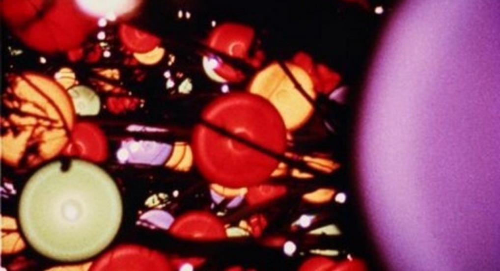 Eye Music in Red Major (Marie Menken, 1961)