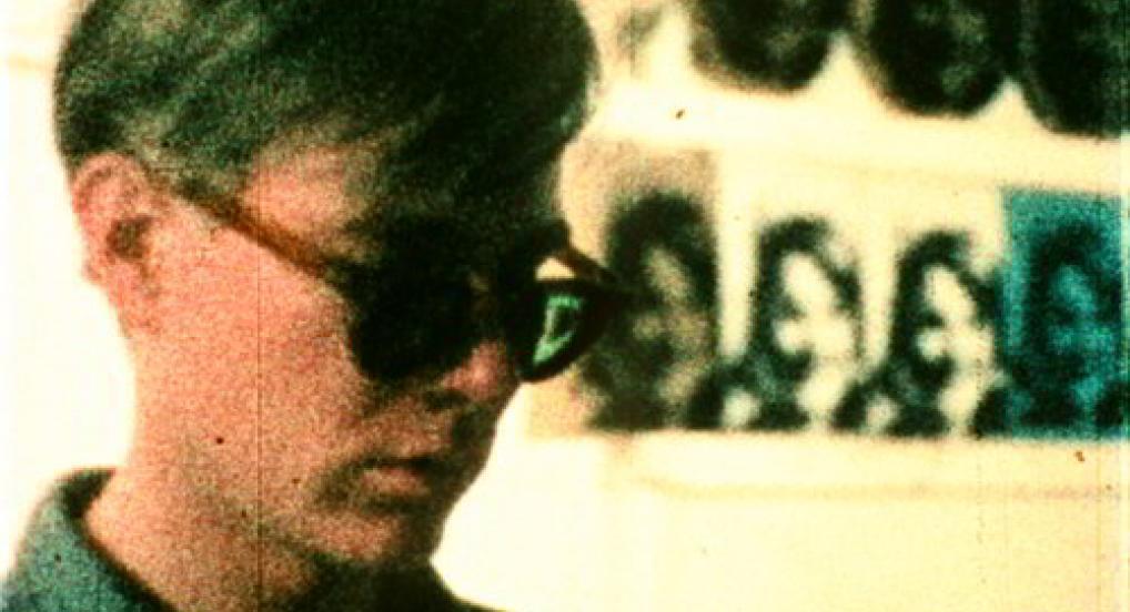 Andy Warhol (Marie Menken, 1965)