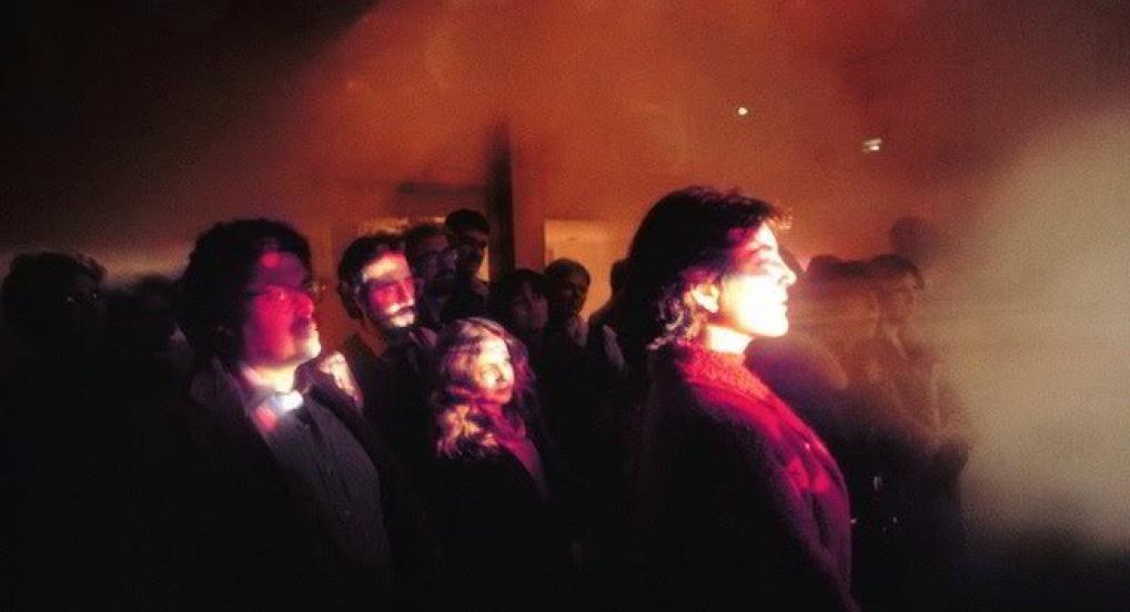 Steam Screens (Stan VanDerBeek & Joan Brigham, 1979, Whitney Museum of American Art)