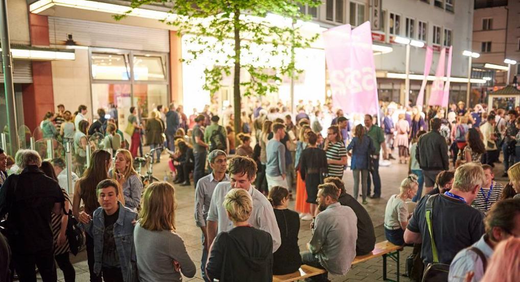 Festival atmosphere in Oberhausen