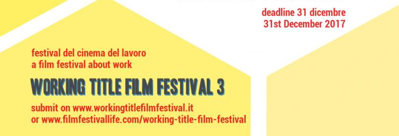 Call Working Title Film Festival 3
