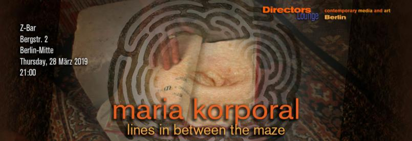 Maria Korporal - Lines in Between the Maze