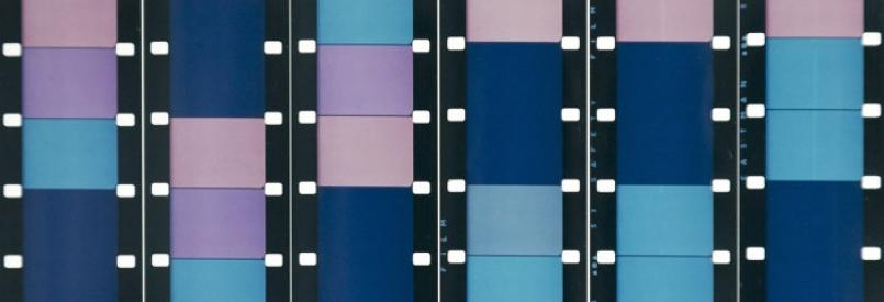 Paul Sharits Frozen Film Frame: Specimen IV, detail 1966