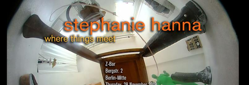 Directors Lounge Screening - Stephanie Hanna - Where Things Meet