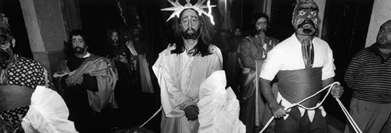 Still from William Klein's Messiah, 1999. © William Klein