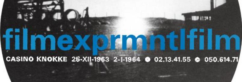 EXPRMNTL 1963 – Japanese Experimental Film in Blossom