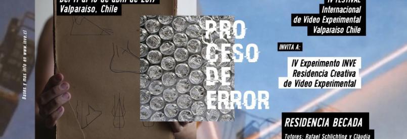 4º EXPERIMENTO INVE – Residencia creativa de video experimental
