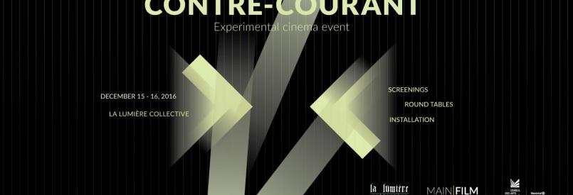 Contre-courant, experimental film event