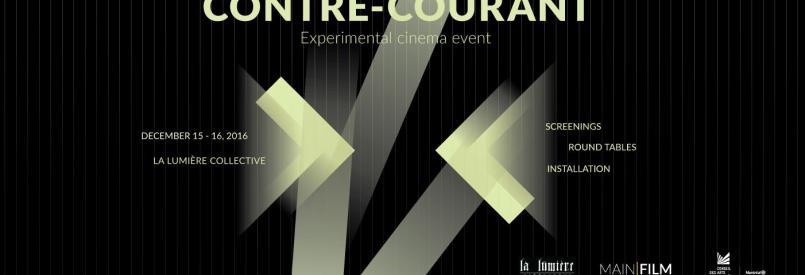 Contre-courant, experimental film event
