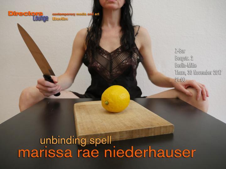 Marissa Rae Niederhauser - Unbinding Spell