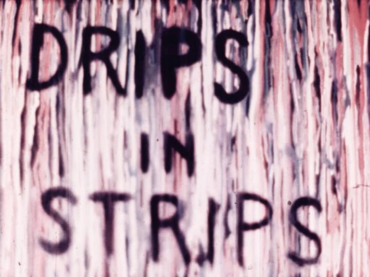 Drips In Strips (Marie Menken, 1961)