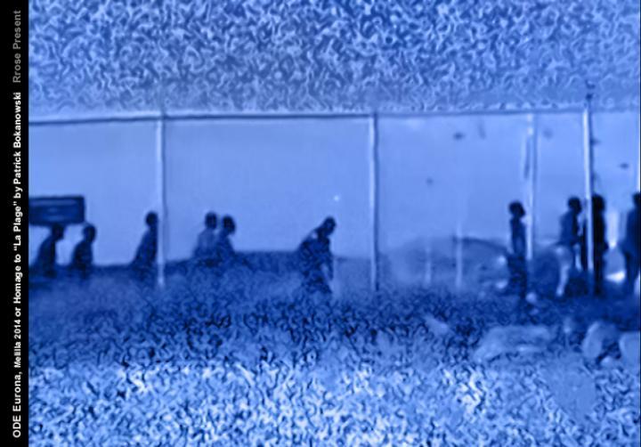 "ODE Europe I, Melilla Beach 2014 or Homage to ""La Plage"" by Patrick Bokanowski (Rrose Present, 2014)"
