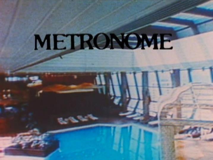 Metronome (Stephanie Barber, 1998)