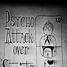 Psycho Attack over Soviets - Poster