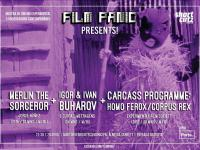 FILM PANIC Presents! A Showcase of Underground and Experimental Cinema.